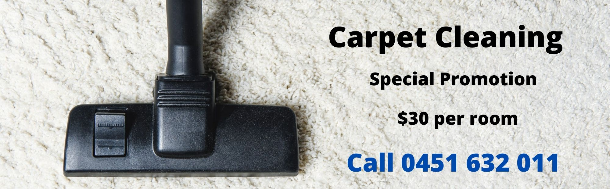 carpet cleaning special price